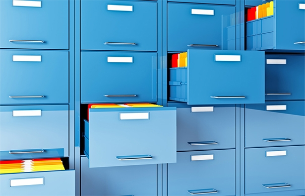 Filing Cabinet describing custom document management system development