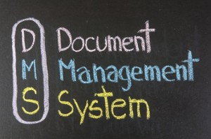 description of the document management system acronym DMS short for DMS!