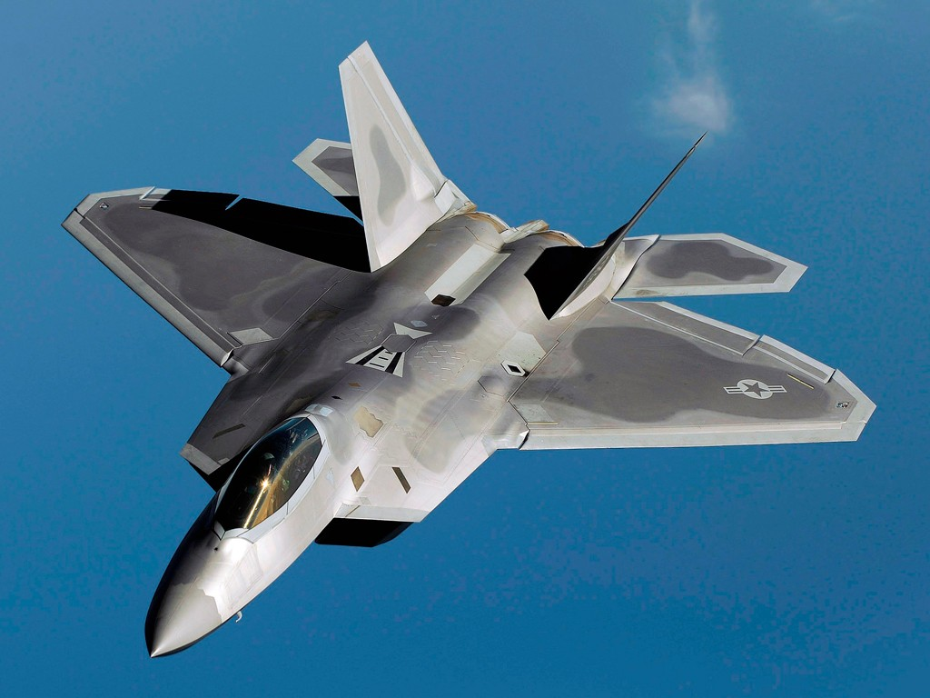 F-22 Raptor with the project cost overrun