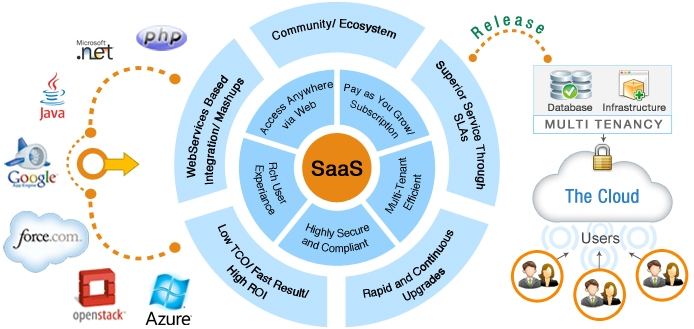 SaaS application development Java community ecosystem